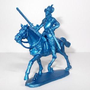 Конный Конкистадор (синий)