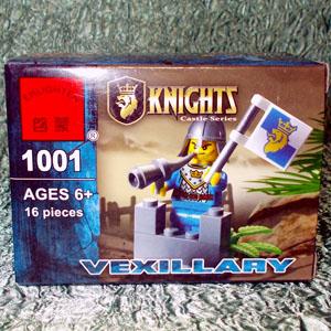 Конструктор Рыцарь 1001 (16 деталей)