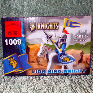 Конструктор Рыцарь 1009 (19 деталей)