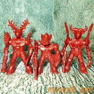 Красные Роботы Звери №2
