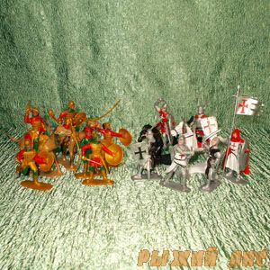 Крестоносцы против Сарацин