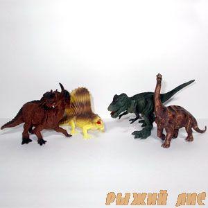 Набор фигурок Динозавры K147