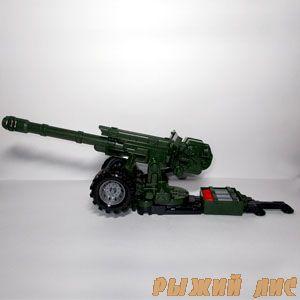 Пушка со снарядами