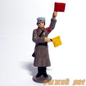 Регулировщица. Зима 1943 (крашеная)