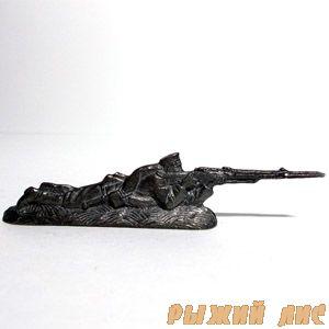 Русский стрелок лежа ПМВ