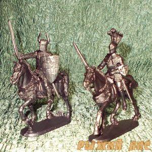 Рыцари (всадники) Вид №1
