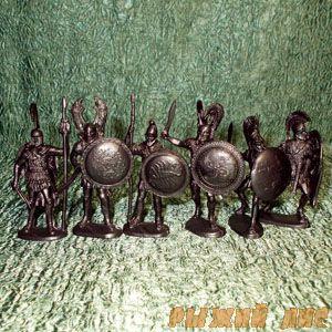 Солдатики Греки (пехота)