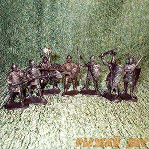 Средневековые воины (пехота)