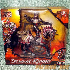Темный Рыцарь на коне