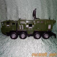 Военный тягач ЩИТ с кунгом