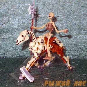 Фигурка Скелета с лошадью