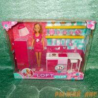 Кукла Штеффи на кухне