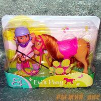 Кукла Еви с пони