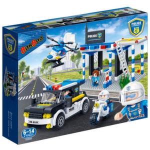Конструктор Полицейский (522 детали)
