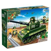Конструктор Танк (260 деталей)