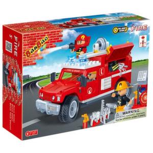 Пожарная машина (242 детали)