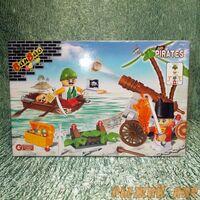 Пираты-захватчики (140 деталей)
