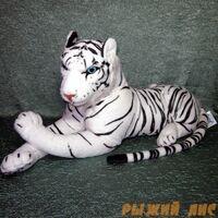 Мягкая игрушка Белый Тигр