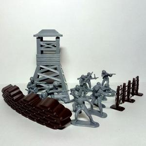 Набор солдатиков Блокпост