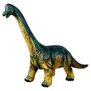 Брахиозавр большой зеленый 25*50 см