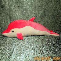 Дельфин Софтик розовый