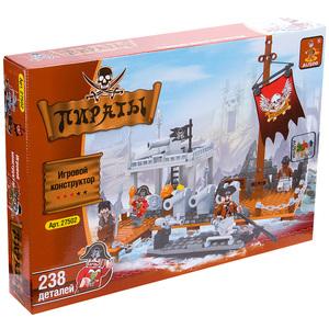 Конструктор Ausini ПИРАТЫ Пиратская пристань
