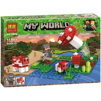 Конструктор BELA Мой Мир Маленький грибной остров
