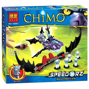 Конструктор Чима - Удар Летучей Мыши
