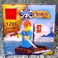 Конструктор Пиратский Плот (34 детали)