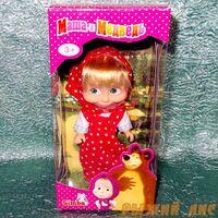 Кукла Маша в сарафане. Вид №1.