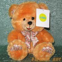 Медведь декоративный с бантом (муз.)