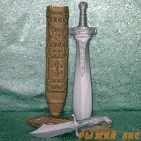 Набор оружия (Меч + нож)
