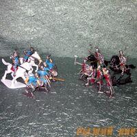 Набор солдатиков Рыцарей (с лошадьми)