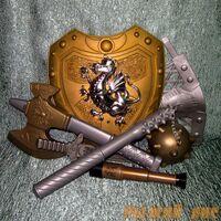 Набор оружия со щитом