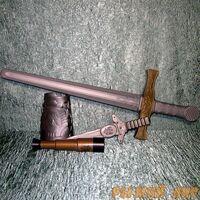 Набор оружия с мечом