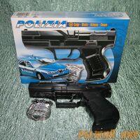 """Пистолет с пистонами """"Полиция"""""""