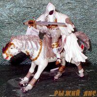 Призрачный всадник на коне