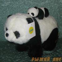 Панда с малышом малая (муз.)
