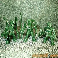 Зеленые Роботы Звери №1