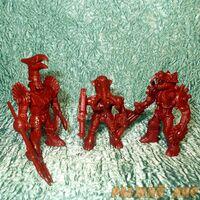 Красные Роботы Звери №1