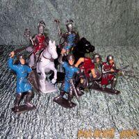 Солдатики Рыцари в пакете