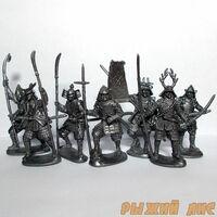 Солдатики Самураи (пехота)