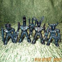 Синие Роботы Звери №2