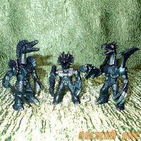 Синие Роботы Звери №1