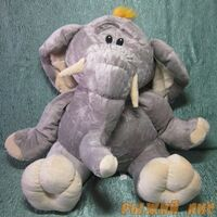 Слон трикотажный