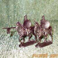 Солдатики Русичи (всадники)