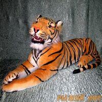Тигр с оскаленной пастью