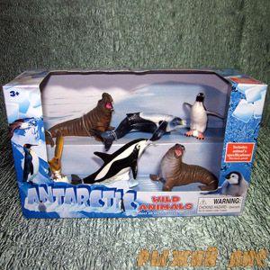 Антарктические Животные. Вид №1.