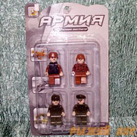 Набор фигурок - Армия №1