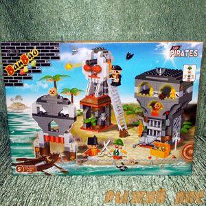 Пиратская бухта (225 деталей)